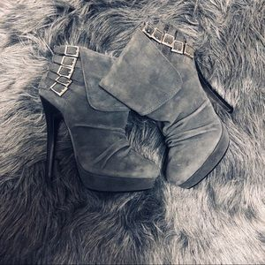 NWOT Naughty Monkey Ankle Boots